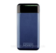 УМБ SEVEN P7 10000 mAh Lightning Type-C Dark Blue