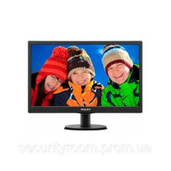Монитор 24 Philips 243V5QSBA/01 Black